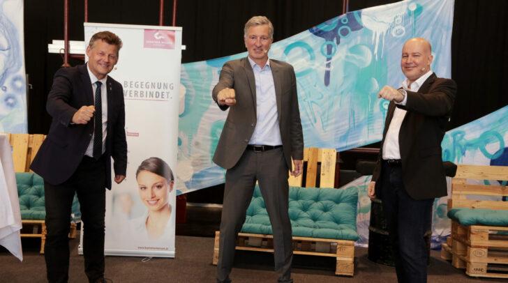 vi.: Bgm. Christian Scheider, Harald Kogler, Bernhard Erler