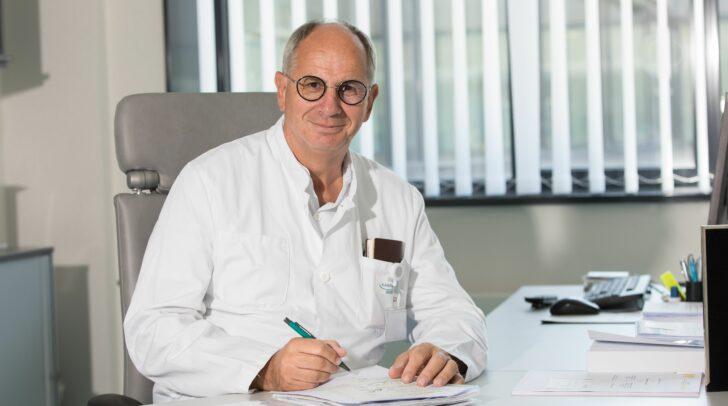 Prof. Rudolf Likar in seinem Metier.