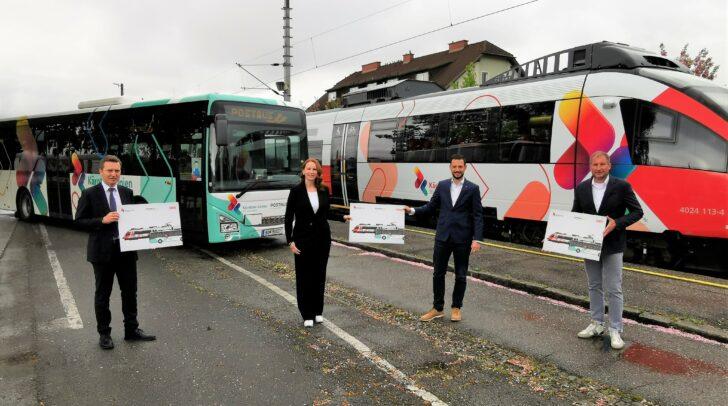 Neuer Look für die ÖBB Cityjet und Postbus Flotte.