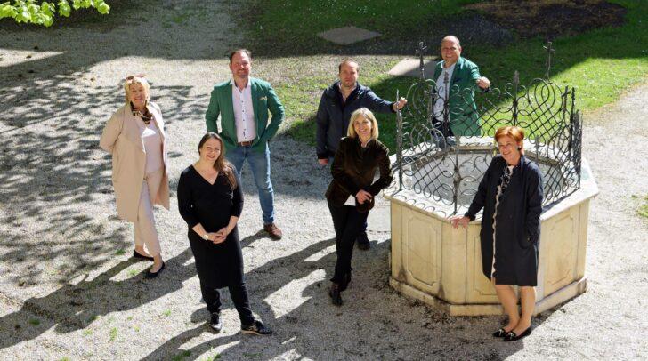 Der Vorstand des Vereins millstART schaut positiv in die Zukunft der Kunstausstellung im Stift Millstatt.