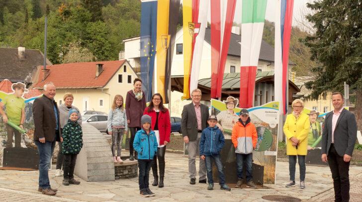 Michael Rohr, Irene Hochstetter-Lackner,  Martina Reithofer, Sara Schaar, Reinhard Antolitsch und Christian Hecher freuen sich auf die Neueröffnung