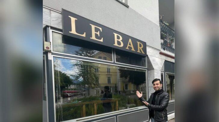 Hasan Keceli wird seine neue Bar bald eröffnen