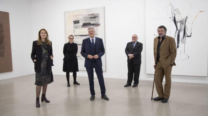 Suse Krawagna, Christine Wetzlinger-Grundnig, LH Peter Kaiser, Igor Pucker und Franco Kappl.