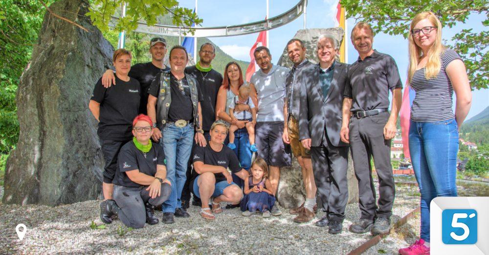 Hilfe fr Raphael: ber 150 Motorradfahrer spendeten in Bad