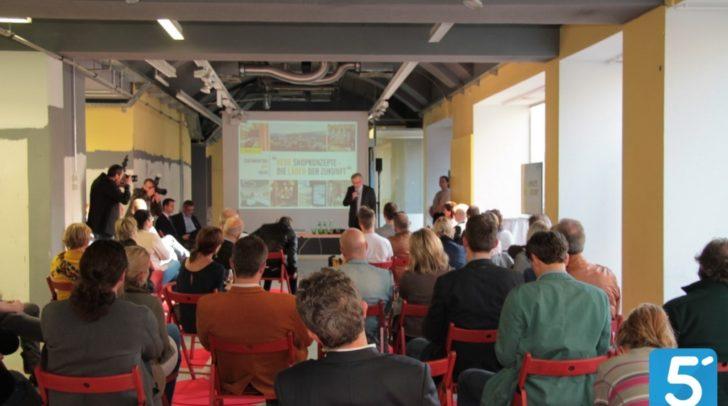 Interessanter Vortrag der Umdasch Shop Academy in der ehemaligen LIBRO-Fläche in Villach